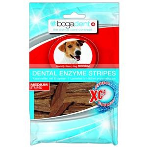 Bogar Dog Dent ENZYME STRIPES MEDIUM 100g Zahnpflege für Hunde