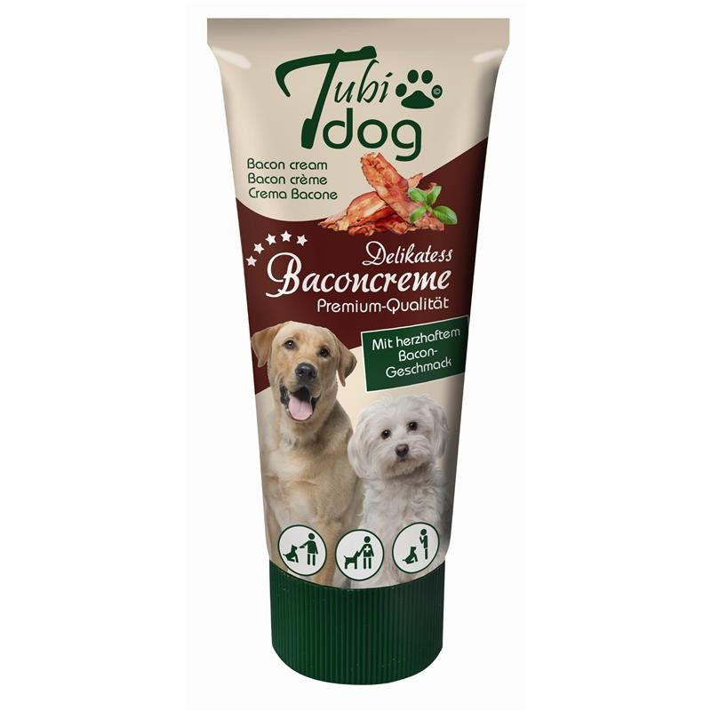 Tubi Dog Delikatess Baconcreme 75g Hundesnack