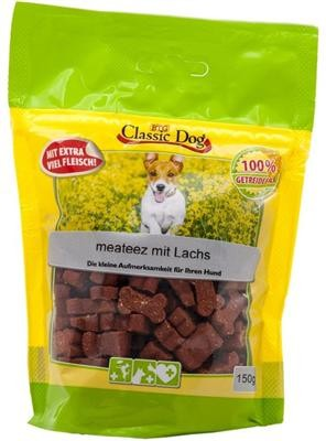 Classic Dog Snack meateez mit Lachs 150g