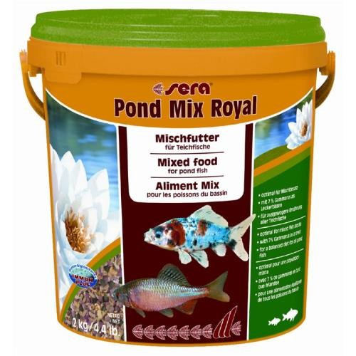 sera pond mix royal 10 Liter Fischfutter