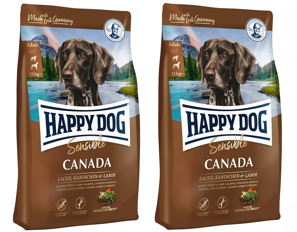 Happy Dog Supreme Sensible Canada 2 x 12,5 kg getreidefrei Hundefutter