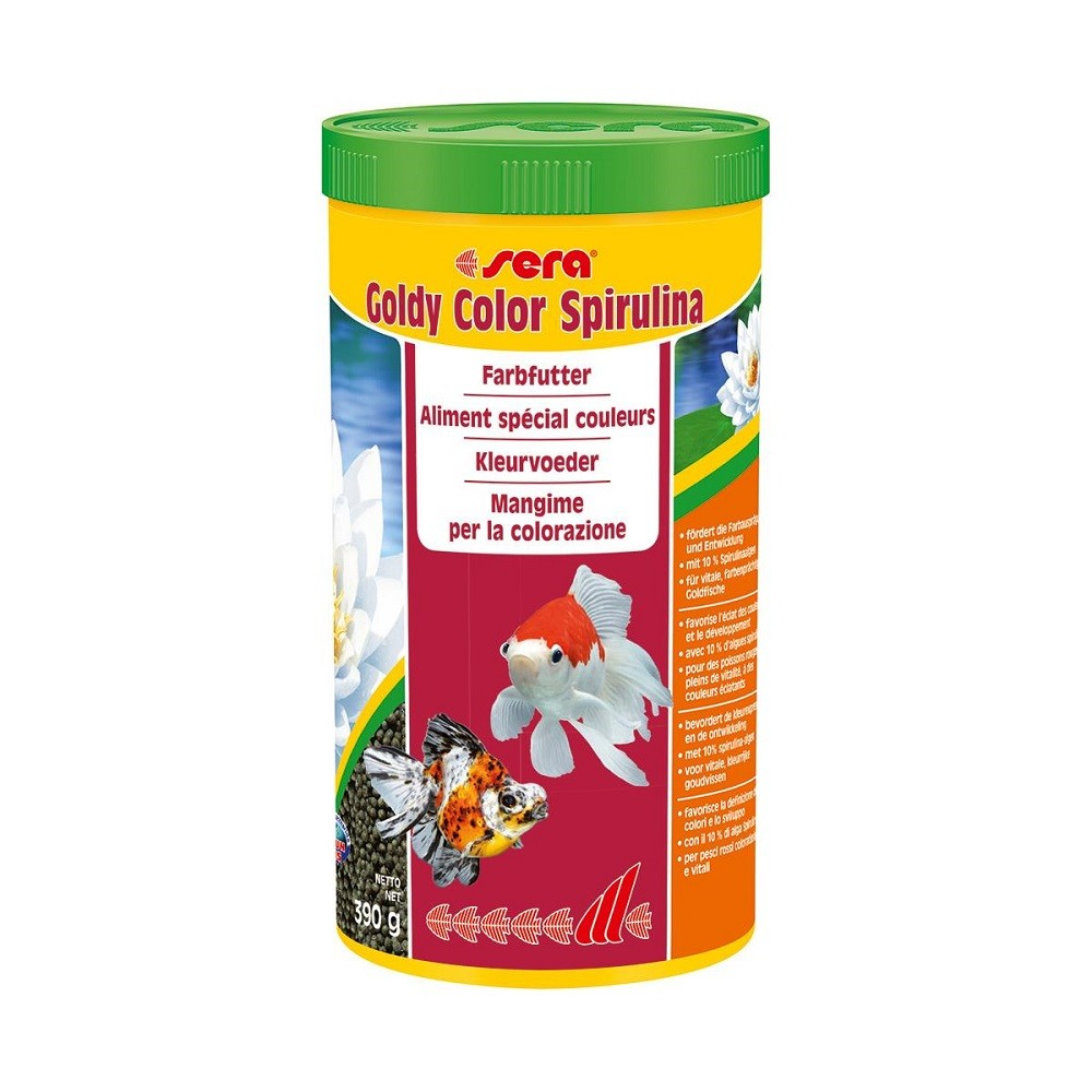 sera goldy color Spirulina 1000 ml Fischfutter