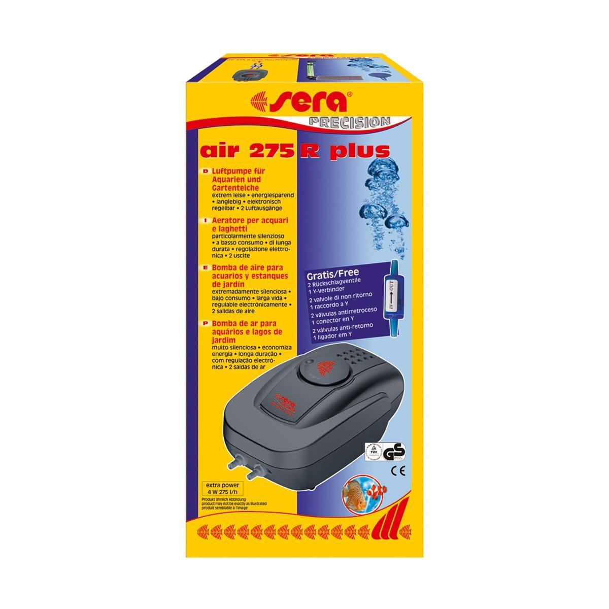 sera air 275 R Luftpumpe für kleine und mittelgroße Aquarien