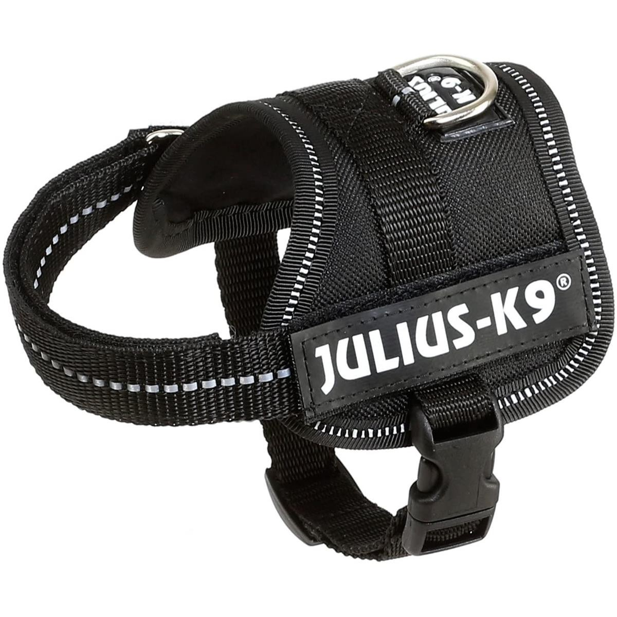 Trixie Dog Julius-K9 Powergeschirr Baby 1/XS schwarz 15071