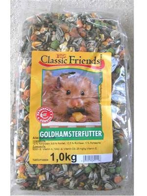 Classic Friends Goldhamsterfutter 25 kg