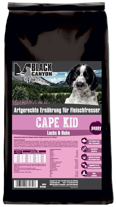 Black Canyon Cape Kid Lachs & Huhn 5 kg getreidefrei