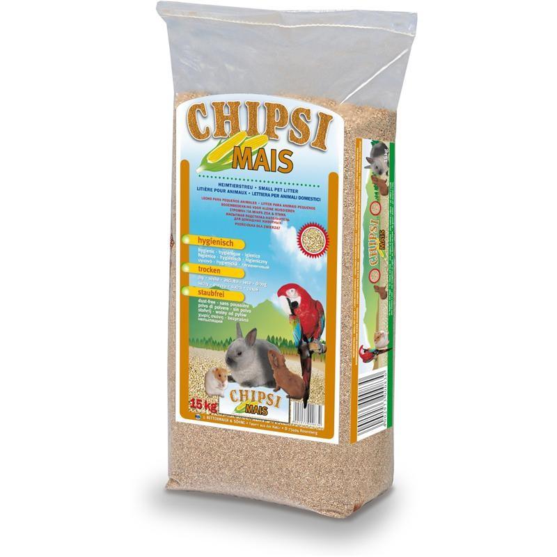 Chipsi Maisstreu 15kg Kleintierstreu