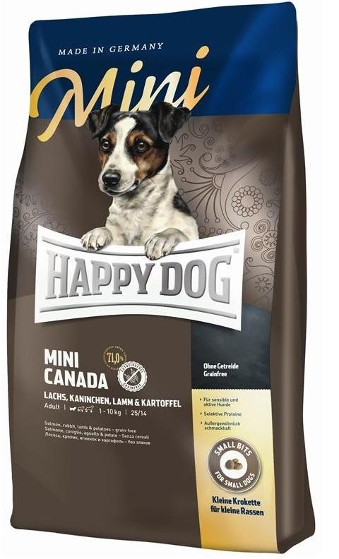 Happy Dog Supreme Mini Canada 1kg getreidefrei Hundefutter