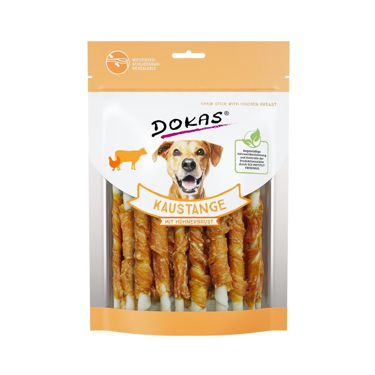 Dokas Dog Snack Kaustange mit Hühnerbrust 200g Hundesnack