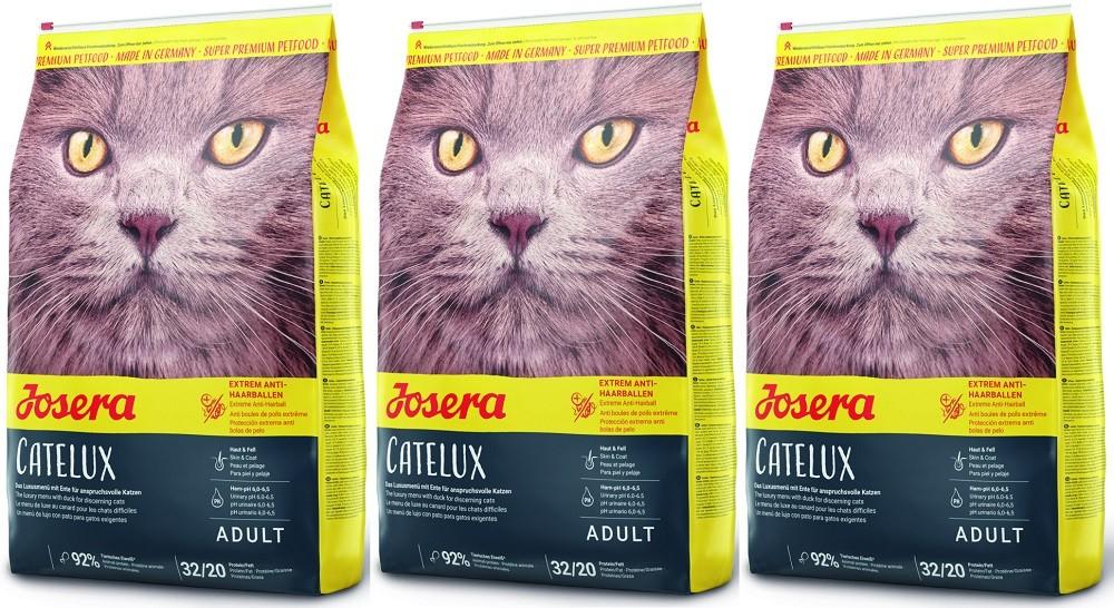 Josera Catelux 3 x 10 kg Katzenfutter