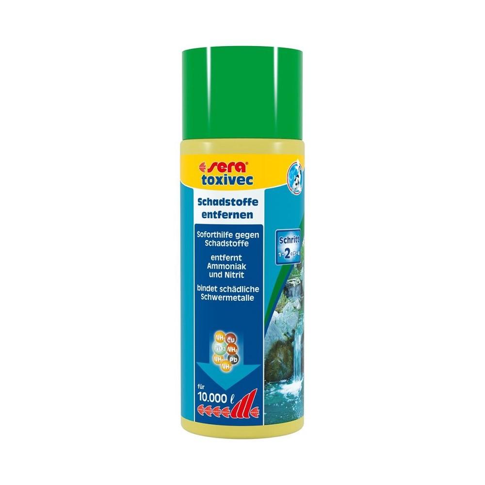 sera pond toxivec 500 ml Schadstoffentfernung für Teiche