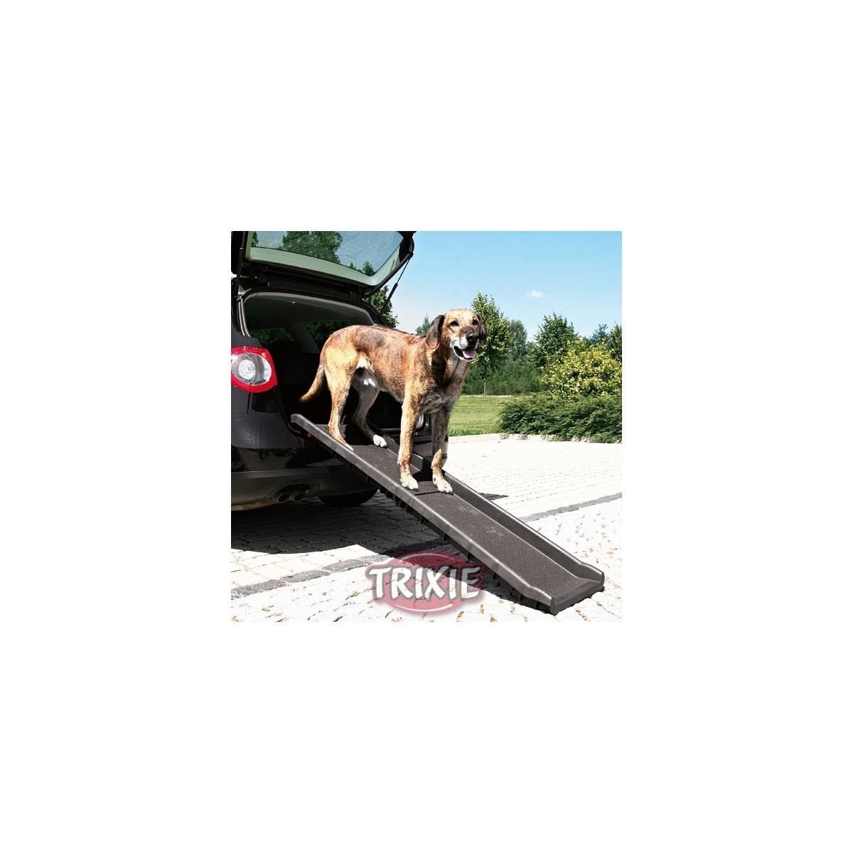 Trixie Klapp-Rampe schwarz 40x156 cm für Auto 3939