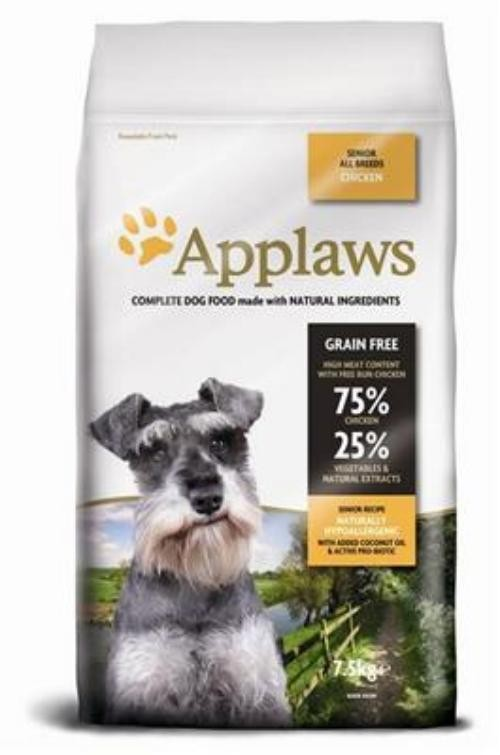 Applaws Dog Senior All Breed Hühnchen 7,5kg Hundefutter