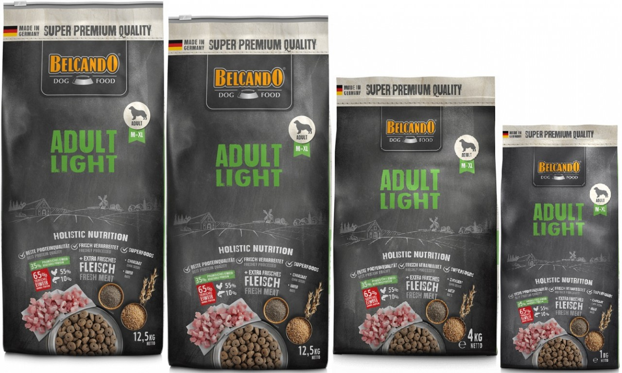 Belcando Adult Light 2 x 12,5kg + 4kg + 1kg extra