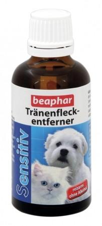 Beaphar Sensitiv Tränenfleckentferner für Hunde und Katzen 50ml