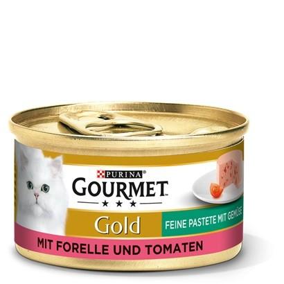 Gourmet Gold Feine Pastete Forelle & Tomaten 12 x 85g
