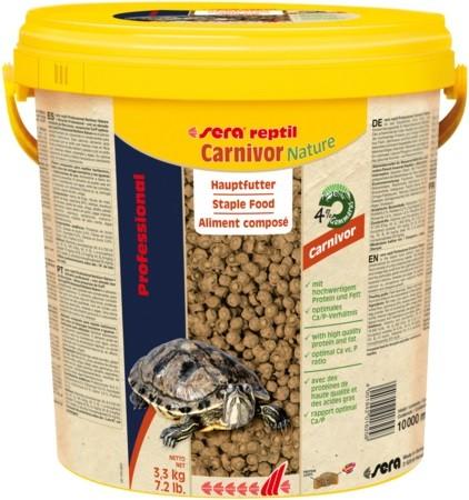 sera reptil Professional Carnivor nature 3,8 Liter Reptilienfutter