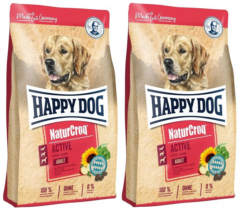 Happy Dog NaturCroq Active 2 x 15 kg