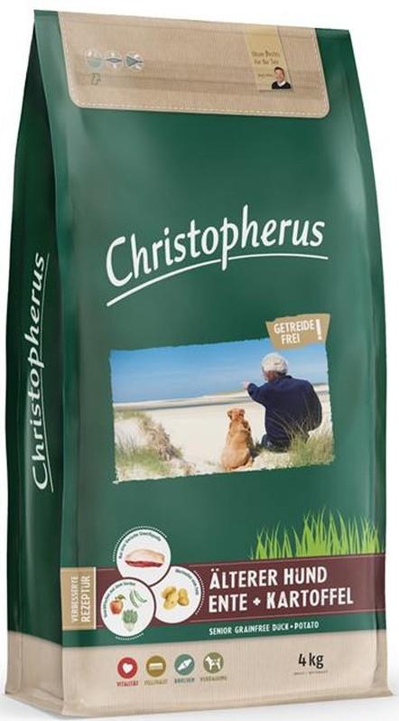 Christopherus Getreidefrei Senior Ente + Kartoffel 4kg