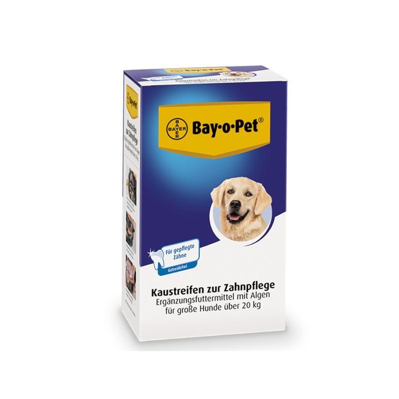 Bay-o-Pet Zahnpflege Kaustreifen für große Hunde 140 g