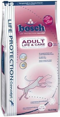 Bosch Life & Care 12,5 kg + 6 Rinderohren +Überraschung