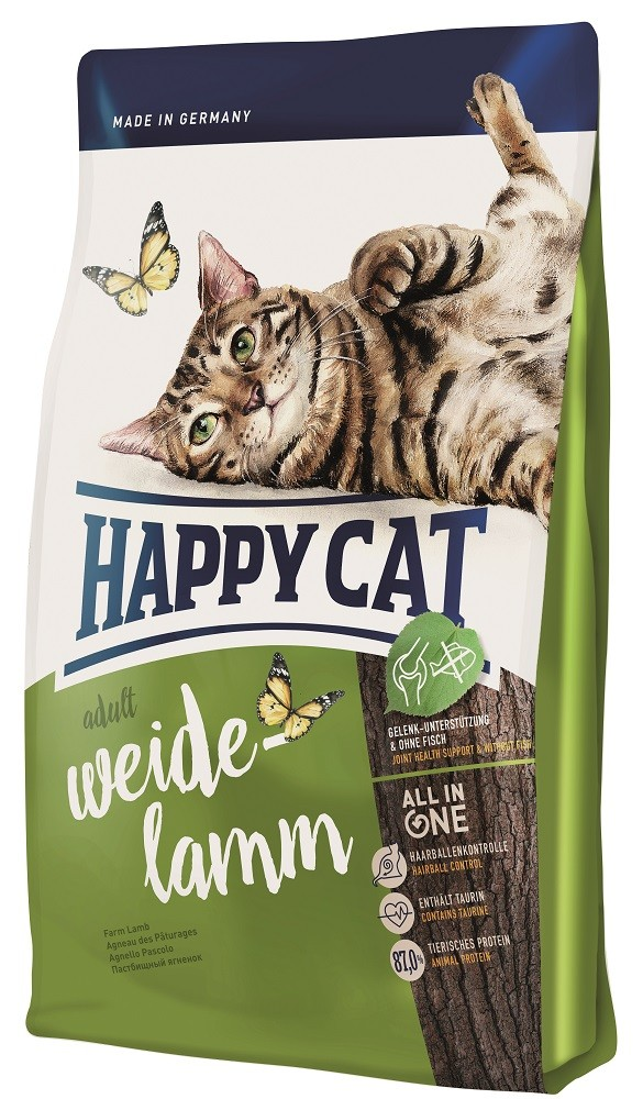 Happy Cat Supreme Adult mit Weide-Lamm 10 kg Katzenfutter