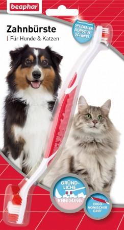 Beaphar Zahnbürste für Hunde und Katzen