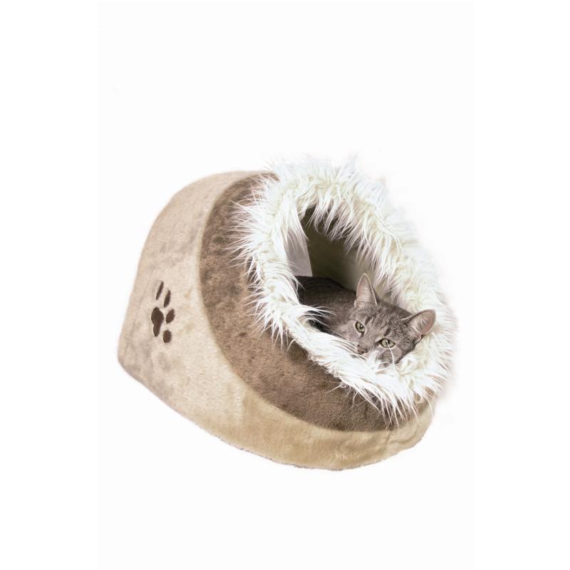 Trixie Cat Kuschelhöhle Minou beige 35×26×41cm
