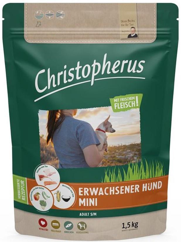 Christopherus Erwachsener Hund Mini 1,5kg