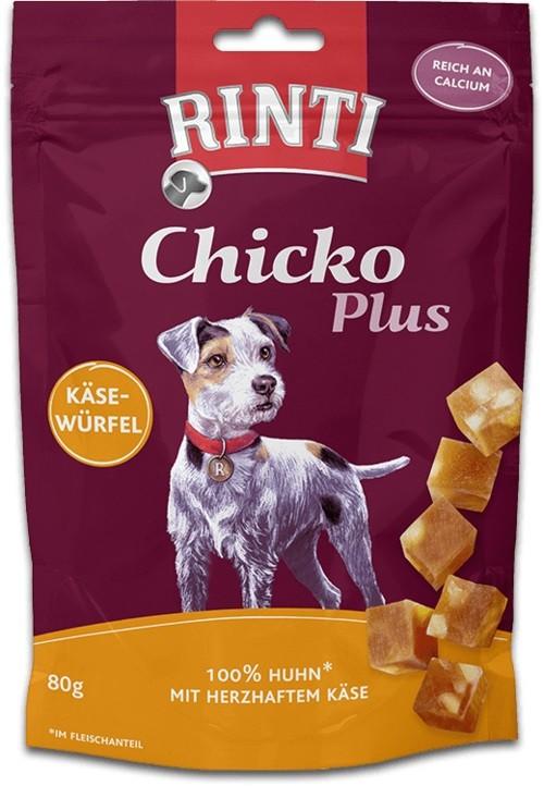 Rinti Extra Snack Chicko Plus Käsewürfel mit Huhn 80g Hundesnack