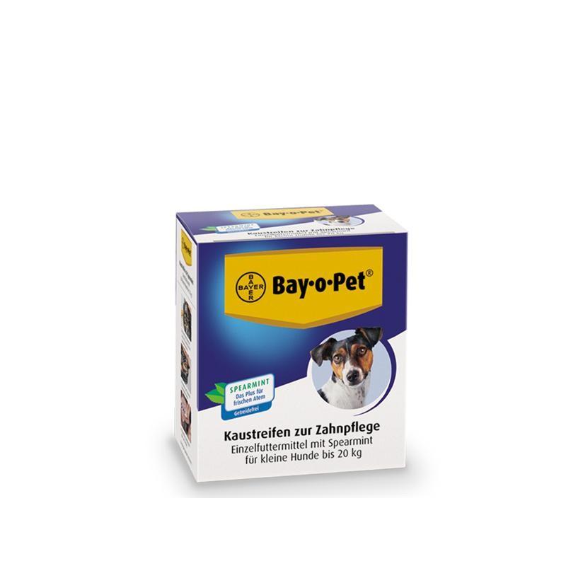 Bay·o·Pet Zahnpflege Kaustreifen Spearmint für kleine Hunde 140 g