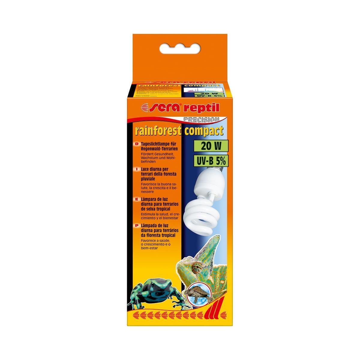 sera reptil rainforest compact 20 Watt Regenwaldterrarienbeleuchtung
