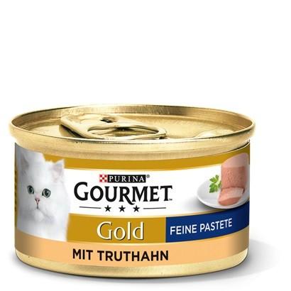 Gourmet Gold Feine Pastete Truthahn 12 x 85g