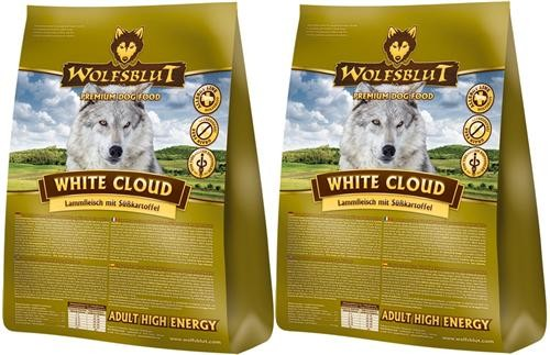 Wolfsblut White Cloud Active 2 x 15 kg