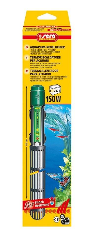 sera Regelheizer 150 Watt für Aquarien