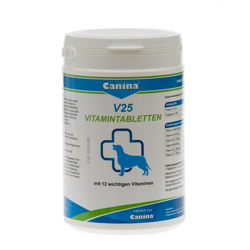 Canina Pharma V25 Vitamintabletten 700g