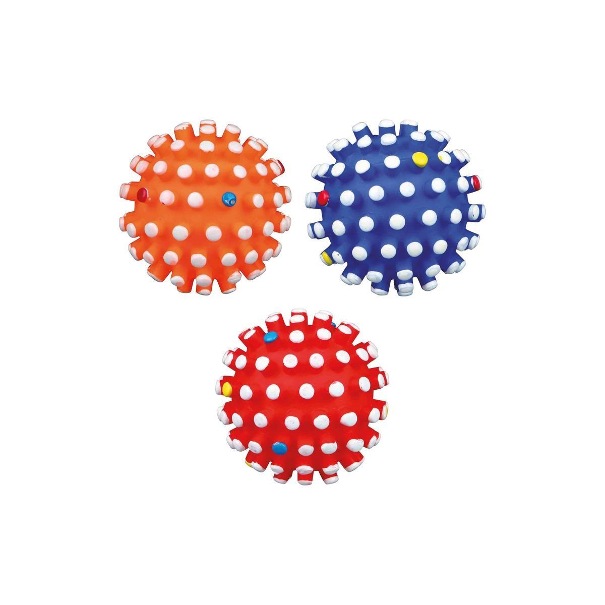 Igelball gr. Noppen Vinyl ø 6cm Hundespielzeug Trixie 3428