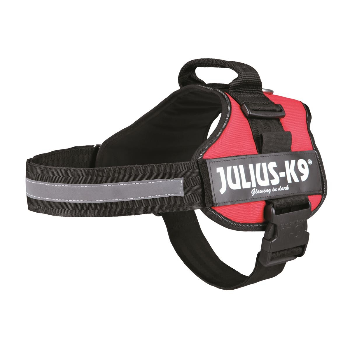 Julius-K9 Powergeschirr 2/L-XL 71-96 cm rot Trixie 150503