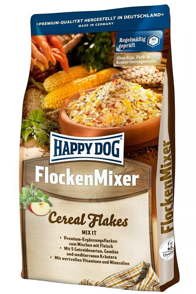 Happy Dog Flocken Mixer 10kg Ergänzungsflocken zum Mischen mit Fleisch
