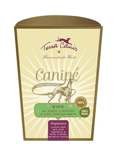 Terra Canis Snack Canipé Rind classic 200g