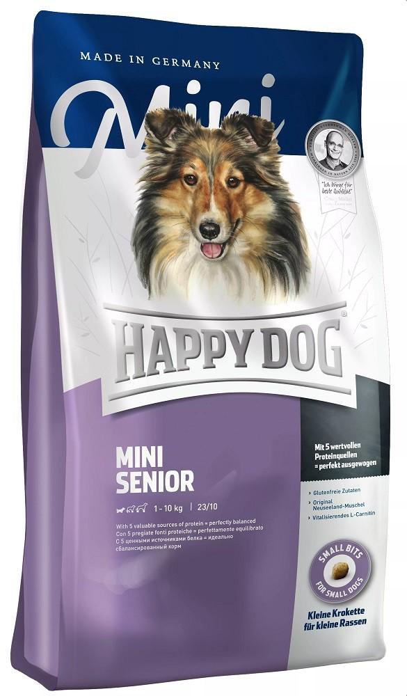 Happy Dog Mini Fit&Well - Senior 4kg Hundefutter