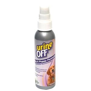Urine Off Formula Spray für ausgewachsene und junge Hunde 118 ml