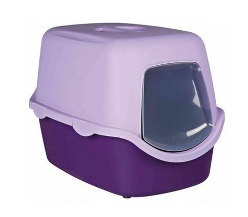 Katzentoilette Vico violett 40x40x56cm Trixie