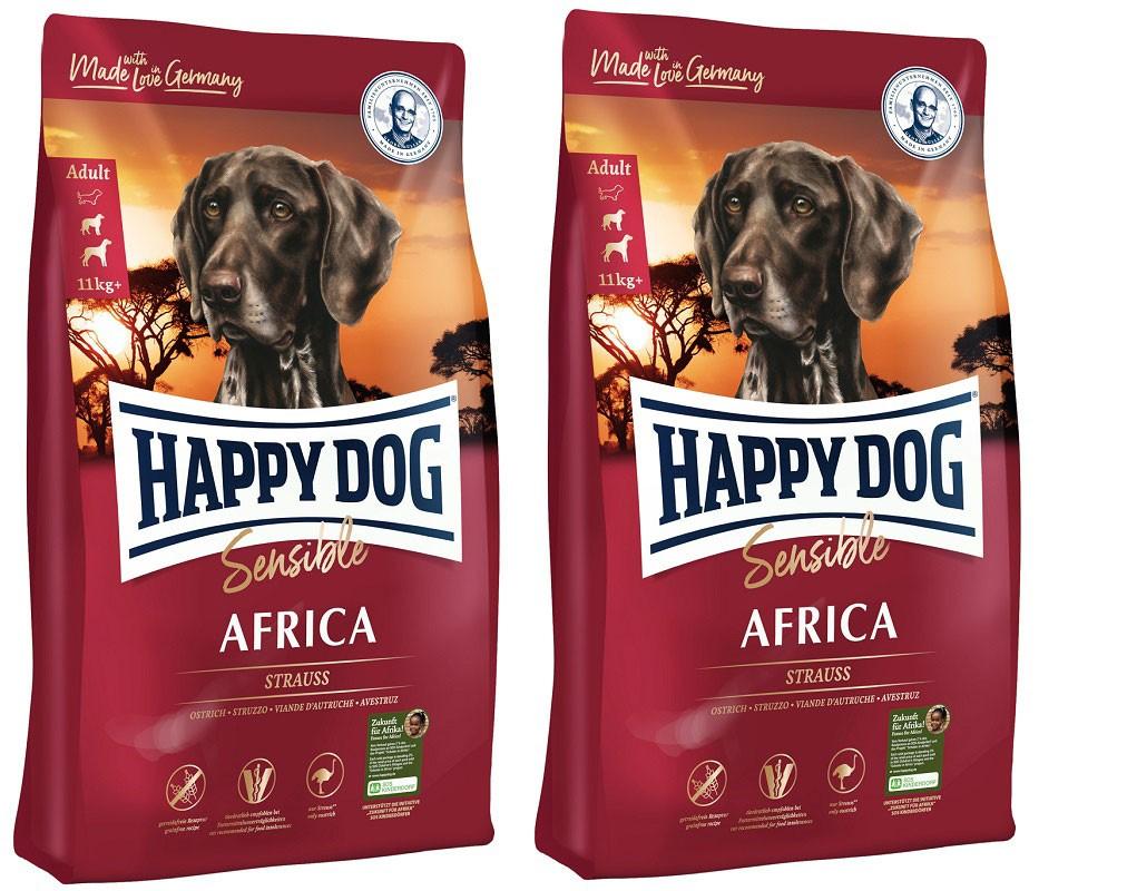 Happy Dog Supreme Sensible Africa 2 x 12,5 kg