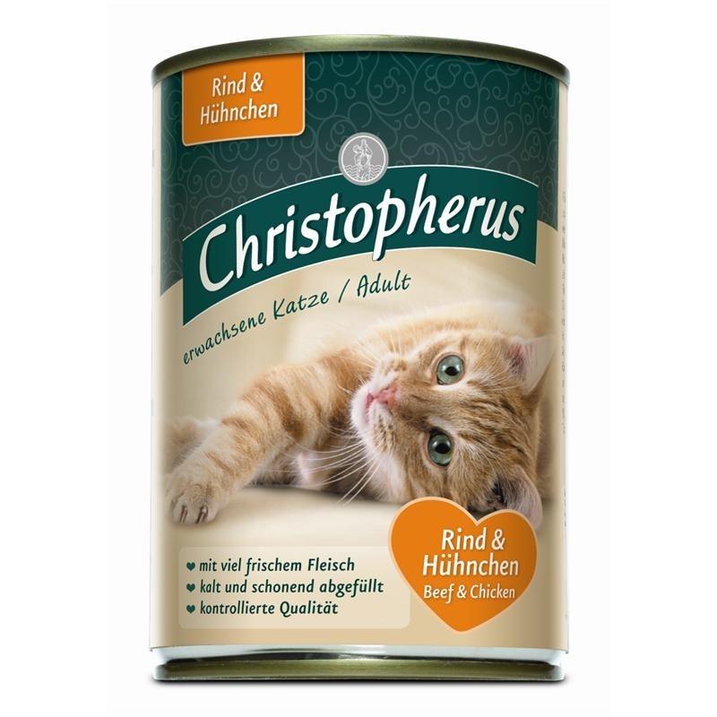 Christopherus Cat Adult Rind & Huhn 6 x 400g
