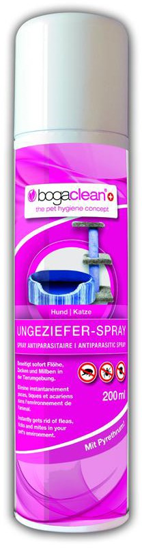 Bog Cat & Dog Clean Ungeziefer-Spray 200ml bogar