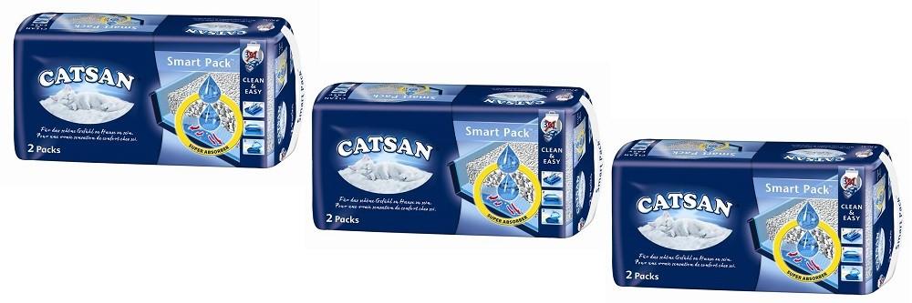 Catsan Smart Pack 3 x 2 Stück