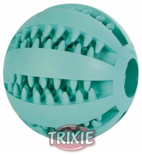 Trixie Denta Fun Baseball Mintfresh Naturgummi 7 cm