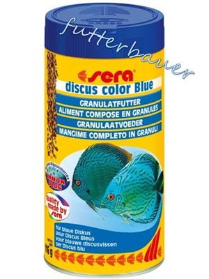 sera discus color Blue 250 ml Granulatfutter