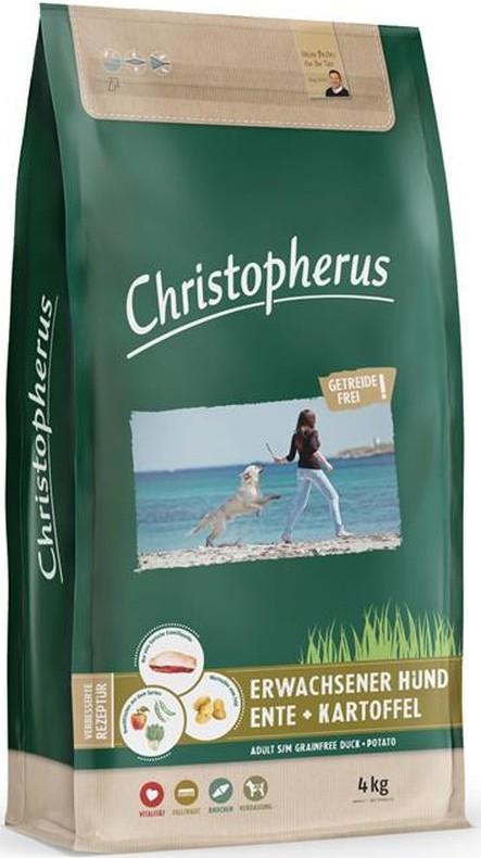 Christopherus Getreidefrei Ente + Kartoffel 4 kg Hundefutter